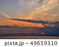 夕焼け 風景 海の写真 49659310