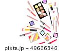コスメ用品のイラスト背景 49666346