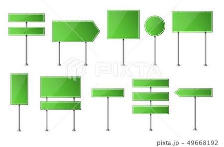 Creative illustration of road sign isolated on background. Art design. Abstract concept graphic 49668192