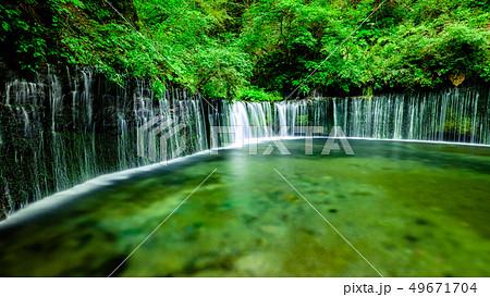 白糸の滝 (軽井沢) 49671704