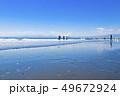 【神奈川県】江ノ島 海と砂浜 49672924