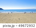 【神奈川県】江ノ島 海と砂浜 49672932