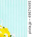 背景 父の日 黄色のイラスト 49674495