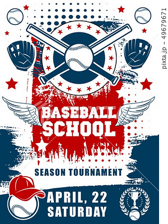 Baseball sport school team tournament 49679671