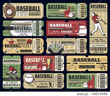 Baseball sport cup tournament tickets 49679988