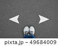 Decision making concept 49684009