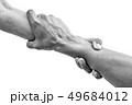 Help hands holding together 49684012