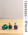 人形 シニア 夫婦の写真 49684661