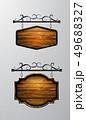 アンティーク 看板 フレームのイラスト 49688327