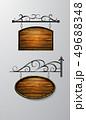 アンティーク 看板 フレームのイラスト 49688348