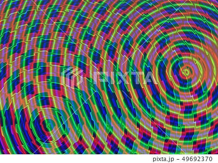 デジタルの共鳴のイラスト素材 [49692370] - PIXTA