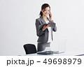 ビジネス 人物 女性の写真 49698979