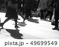 東京の雑踏の画像 49699549