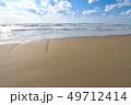 海岸 海 砂丘の写真 49712414