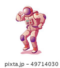 Astronaut or spacemen character wearing space suit 49714030