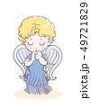 祈りの子供・天使のイメージ 49721829