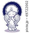 祈りの子供・天使のイメージ 49722002