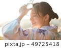 女性 夏 浴衣 ラムネ 49725418