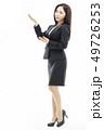 ビジネスウーマン 女性 女の写真 49726253