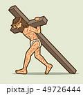 マンガ キャラクター 文字のイラスト 49726444