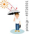 熱中症 対策 サラリーマンのイラスト 49726501
