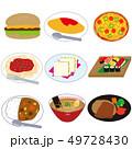 外食セット 49728430
