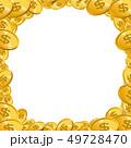 お金 コイン 通貨のイラスト 49728470