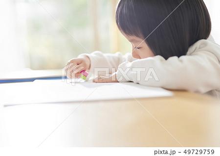 女の子 子供 ライフスタイル 勉強 49729759