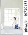 女の子 子供 お風呂の写真 49730165