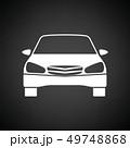 車 自動車 アイコンのイラスト 49748868