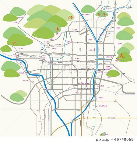 京都の地図_2019 49749069