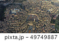 Aerial down view of the city of Siena, Italy 49749887