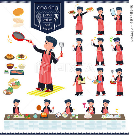 flat type Bad student boy_cooking 49749946