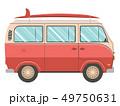 車 自動車 貨車のイラスト 49750631