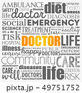 Doctor word cloud collage 49751752
