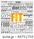 FIT word cloud collage background 49751759