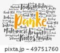 Danke (Thank You in German) word cloud 49751760