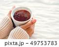 手 カップ マグカップの写真 49753783