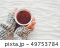手 カップ マグカップの写真 49753784