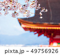 春・桜・京都イメージ 清水寺 49756926