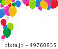 Colorful Party Balloons Background 49760835