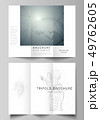 The minimal vector illustration of editable layouts. Modern creative covers design templates for 49762605