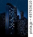 夜 ベクトル 都会的のイラスト 49763610