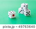 サイコロ ギャンブル ダイス ゲーム 49763640