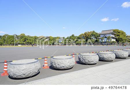 車両侵入防止用のコンクリートブロック 49764478