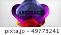 Techno lines, hi-tech futuristic abstract 49773241