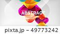Techno lines, hi-tech futuristic abstract 49773242