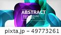 Techno lines, hi-tech futuristic abstract 49773261