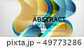 Techno lines, hi-tech futuristic abstract 49773286