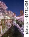 桜 ライトアップ 神田川の写真 49781436